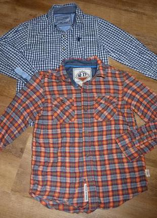 1)next коттоновая рубашка некст на 6 лет рост 116 см