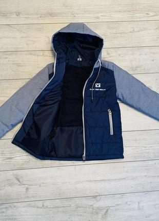 Весенняя куртка на мальчика от 8 до 12 лет minecraft, размеры 134-152