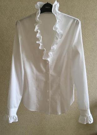 Белая блуза wallmann австрия