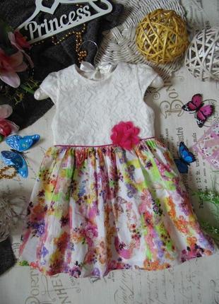 3-4года.шикарное нарядное платье george.mега выбор обуви и одежды!