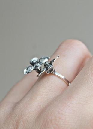 Серебряное кольцо птички безразмерное2 фото
