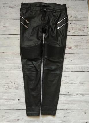 Шикарні фірмові штани  з еко-шкіри