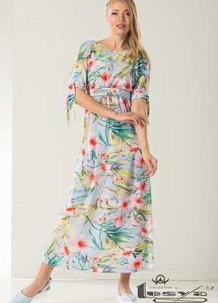 5fd2559e395 ... Красивое летнее макси-платье от тм lesya. по цене опта. размер 463 ...