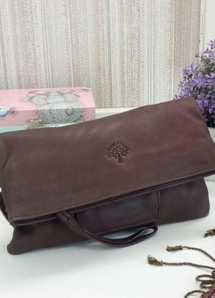 Классная сумка mulberry, британия, натуральная кожа