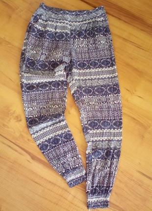 Летние легкие штаны с-м
