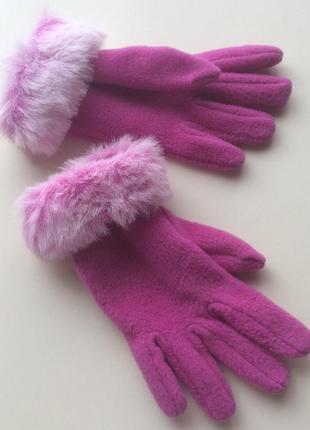 Флисовые перчатки st.michael от m&s на 9-14 лет
