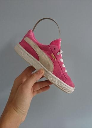 Оригінальні дитячі кросівки puma
