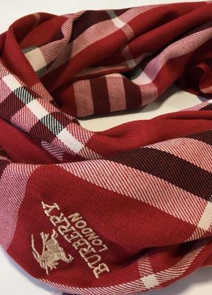 Burberry палантин красного цвета шарф in ua
