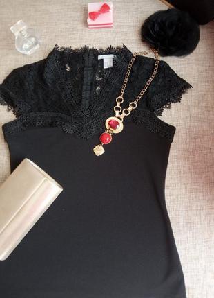 Блузка кружевна
