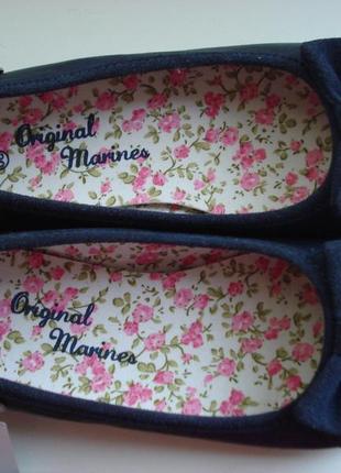 Балетки туфли original marines 30 размер