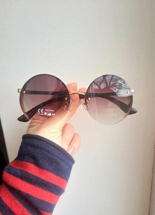 Стильные красивые круглые очки