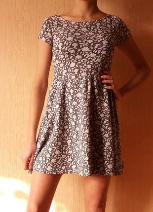 Распродажа! весеннее платье с юбкой солнце