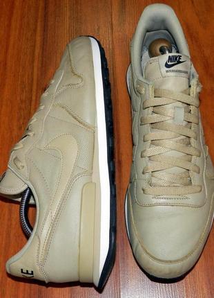 Nike internationalist ! оригинальные, стильные,кожаные невероятно крутые кроссовки