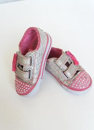 Кеды детские skechers twinkle toes