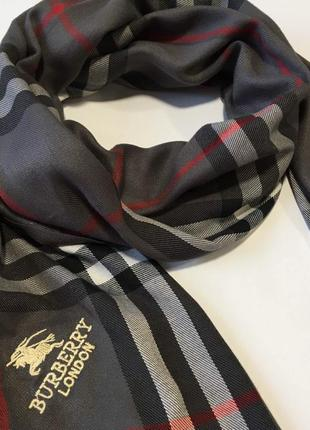 Burberry палантин красивого серого цвета шарф in ua