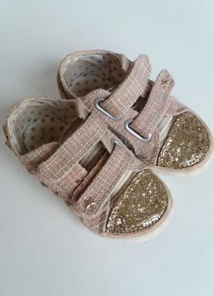 Стильные кеды next на липучках, тапочки в садик, весенняя обувь, кроссовки
