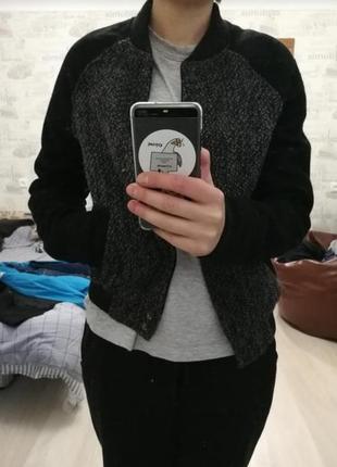 Куртка, бомбер pull & bear
