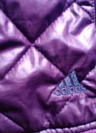 Легкая деми куртка adidas-оригинал6 фото
