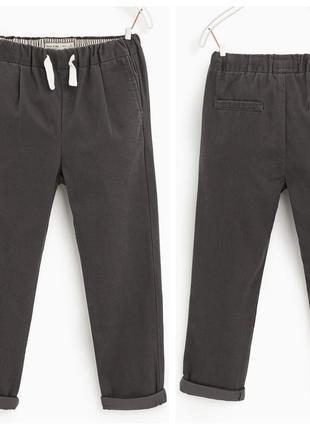 Котонові штани для хлопчика від zara іспанія