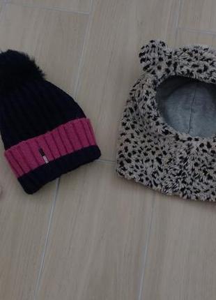 От 2до 5 лет две теплые шапочки !