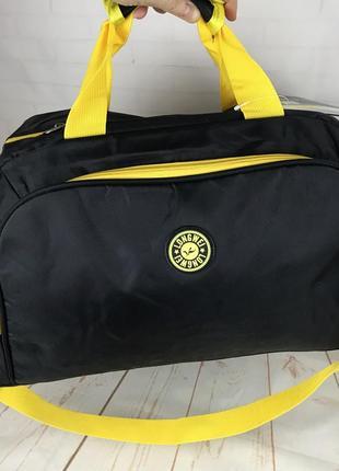 Небольшая женская спортивная, дорожная сумка . ксс39