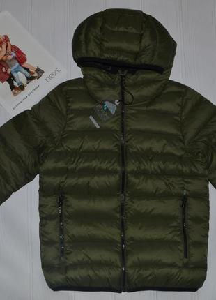 Стильна демісезонна куртка next для хлопців розм. 7 р./122 в наявності
