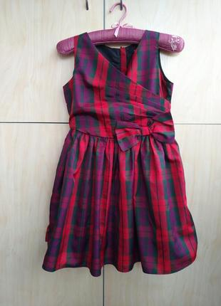 Нарядное платье george на 9-10 лет