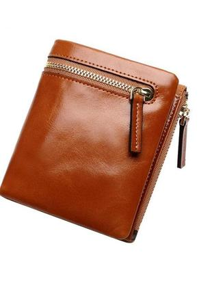 Стильный горчичный маленький кошелек, бумажник, портмоне