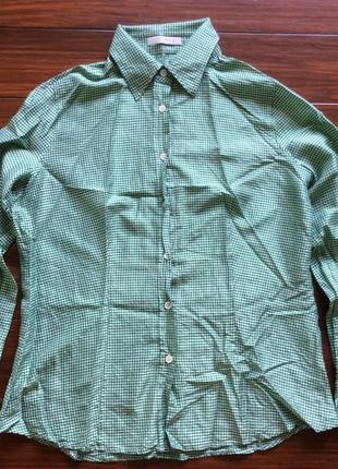 Шелковая дизайнерская рубашка от etro! p.-48 итал! оригинал!1 фото