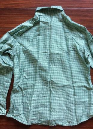 Шелковая дизайнерская рубашка от etro! p.-48 итал! оригинал!2 фото