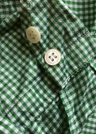 Шелковая дизайнерская рубашка от etro! p.-48 итал! оригинал!4 фото