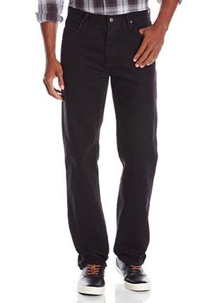 Классические чёрные джинсы 32х34