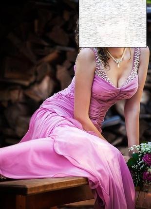 Шикарное платье выпускное свадьба юбилей вечернее