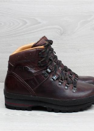 Зимние треккинговые ботинки meindl, размер 38 (кожа)