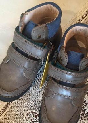 Кожаные ботинки 25,29,30 р. d.d.step на мальчика, демисезон, весенние, осенние, хлопчик