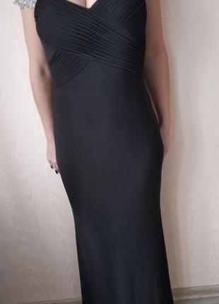 Js boutique вечерние платья с камнями