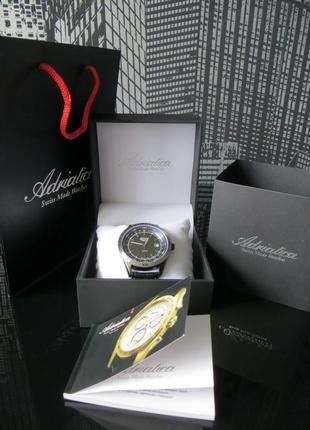 Швейцарские часы adriatica (оргинал 100%!) swiss made (новые)2 фото