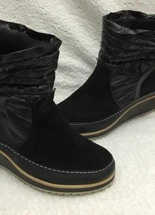 Сапожки ботинки замш плащовка le cog sport if 37p
