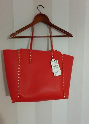 Нова сумка шопер двухстороння zara