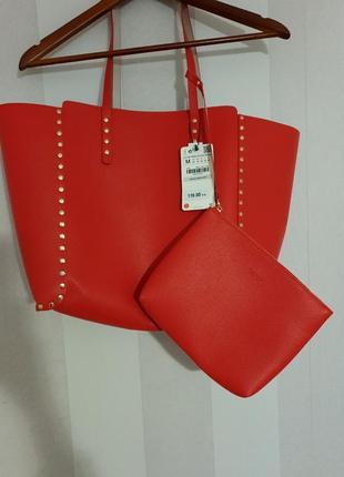 Нова сумка шопер двухстороння zara2 фото