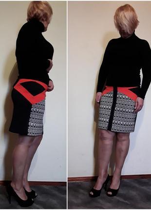 Трикотажная юбка 💣