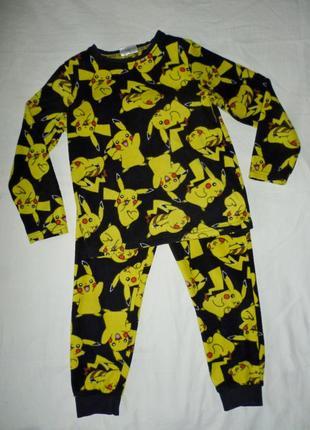 Флисовый костюм на 6-7 лет