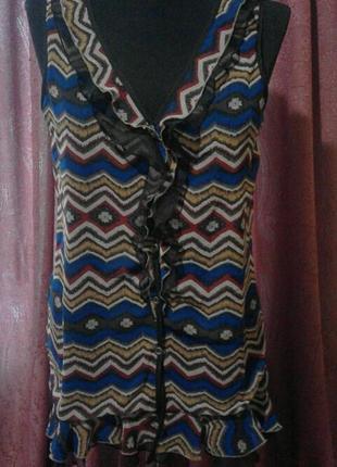 Легкая цветная блуза