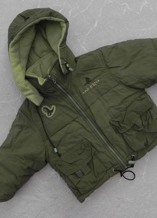 Куртка зимняя 2 года 92 см