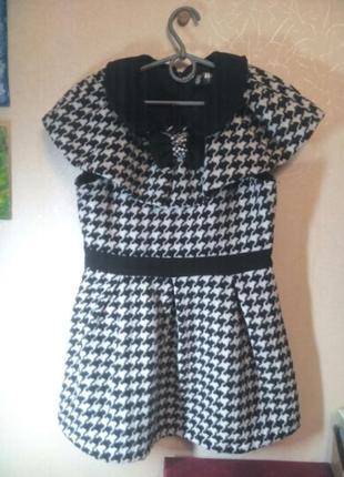Платье-пальто для девочки