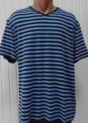 Мужская полосатая футболка для дома и сна c&a