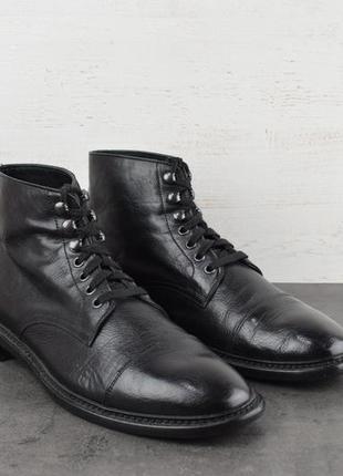 Ботинки geox. кожа, сделаны в италии. размер 42
