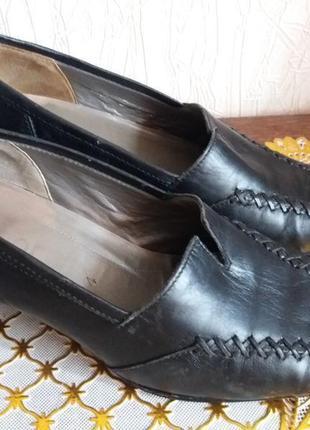 Кожаные туфли классические , натуральная кожа, бренд gabor-37