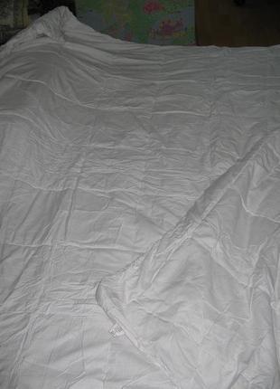 Одеяло белое  силиконовое  «anti-stress»2