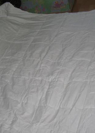 Одеяло белое  силиконовое  «anti-stress»5